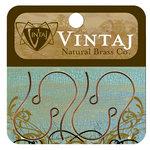 Vintaj Metal Brass Company - Metal Jewelry Hardware - Round Loop Ear Wires