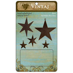 Vintaj Metal Brass Company - Metal Altered Blanks - Stars