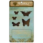 Vintaj Metal Brass Company - Metal Altered Blanks - Butterflies