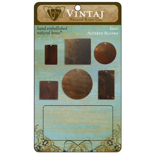 Vintaj Metal Brass Company - Metal Altered Blanks - Basic