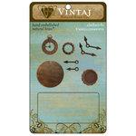 Vintaj Metal Brass Company - Metal Embellishments - Clockworks