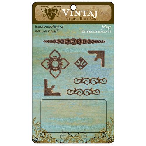 Vintaj Metal Brass Company - Metal Embellishments - Fringe
