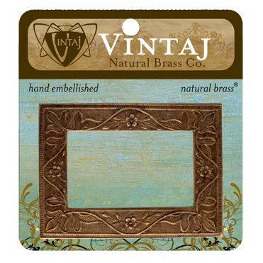 Vintaj Metal Brass Company - Metal Embellishments - Garden Frame