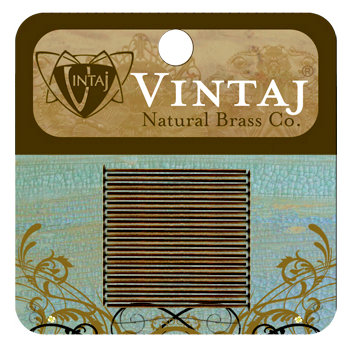 Vintaj Metal Brass Company - Metal Jewelry Hardware - Head Pin - Short