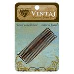 Vintaj Metal Brass Company - Metal Jewelry Hardware - Head Pin - Long