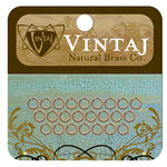 Vintaj Metal Brass Company - Metal Jewelry Hardware - Jump Rings - Extra Small
