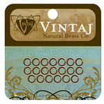 Vintaj Metal Brass Company - Metal Jewelry Hardware - Jump Rings - Small
