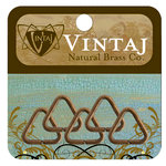 Vintaj Metal Brass Company - Metal Jewelry Hardware - Jump Rings - Triangle