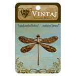 Vintaj Metal Brass Company - Metal Embellishments - Ornate Dragonfly