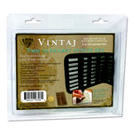 Vintaj Metal Brass Company - Tools - Letter Set Uppercase with Storage Case - 3mm
