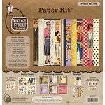 Vintage Street Market - Family Fun Collection - 12 x 12 Paper Kit