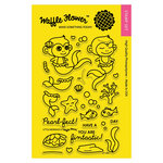 Waffle Flower Crafts - Clear Acrylic Stamps - Little Mermaids