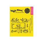 Waffle Flower Crafts - Clear Acrylic Stamps - Snail Mail