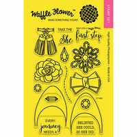 Waffle Flower Crafts - Clear Photopolymer Stamps - First Step