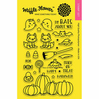 Waffle Flower Crafts - Halloween - Clear Photopolymer Stamps - Trick or Treat