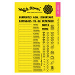 Waffle Flower Crafts - Planner Collection - Clear Acrylic Stamps - Currently