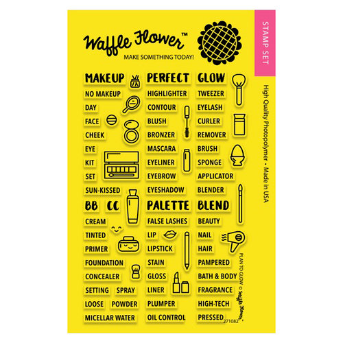 Waffle Flower Crafts - Planner Collection - Clear Photopolymer Stamps - Plan to Glow