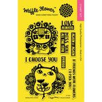 Waffle Flower Crafts - Clear Acrylic Stamps - Enveloper Choice