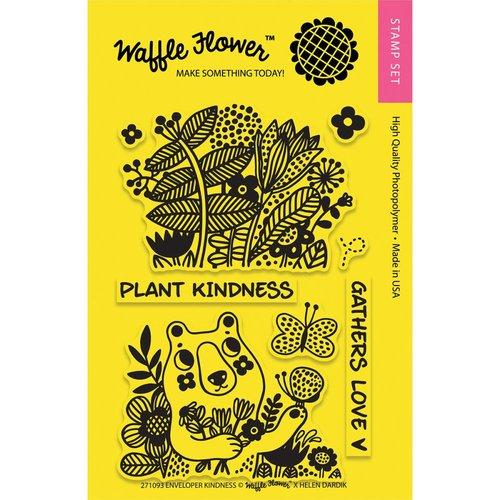 Waffle Flower Crafts - Clear Photopolymer Stamps - Enveloper Kindness