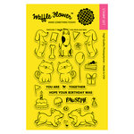 Waffle Flower Crafts - Clear Acrylic Stamps - Pawsome