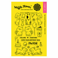 Waffle Flower Crafts - Clear Photopolymer Stamps - Pawsome