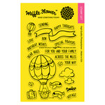 Waffle Flower Crafts - Clear Acrylic Stamps - Across the Miles