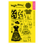 Waffle Flower Crafts - Clear Photopolymer Stamps - Heatwave