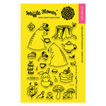 Waffle Flower Crafts - Clear Photopolymer Stamps - Tea for Two