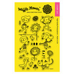 Waffle Flower Crafts - Clear Acrylic Stamps - Hooray