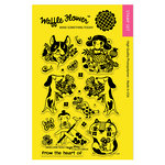 Waffle Flower Crafts - Clear Acrylic Stamps - Enveloper From