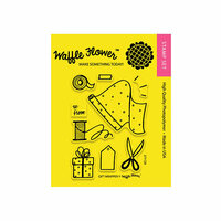 Waffle Flower Crafts - Clear Photopolymer Stamps - Gift Wrapper