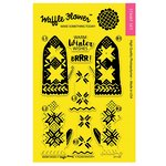 Waffle Flower Crafts - Clear Acrylic Stamps - Warm Hands