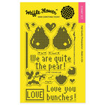 Waffle Flower Crafts - Clear Acrylic Stamps - Stitched Love