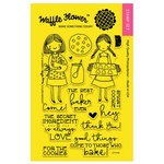 Waffle Flower Crafts - Clear Photopolymer Stamps - Little Bakers
