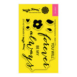 Waffle Flower Crafts - Clear Photopolymer Stamps - Forever