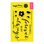 Waffle Flower Crafts - Clear Acrylic Stamps - Forever