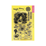 Waffle Flower Crafts - Clear Acrylic Stamps - Enveloper Me
