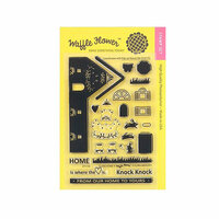 Waffle Flower Crafts - Clear Photopolymer Stamps - Flora Home