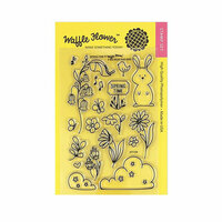 Waffle Flower Crafts - Clear Photopolymer Stamps - Spring Time