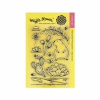 Waffle Flower Crafts - Clear Photopolymer Stamps - Summer Time