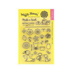 Waffle Flower Crafts - Clear Acrylic Stamps - Wish
