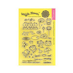 Waffle Flower Crafts - Clear Acrylic Stamps - Toadally