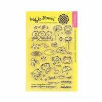 Waffle Flower Crafts - Clear Photopolymer Stamps - Toadally