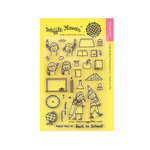 Waffle Flower Crafts - Clear Acrylic Stamps - Pencil In
