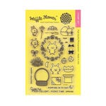 Waffle Flower Crafts - Clear Acrylic Stamps - Hoppy