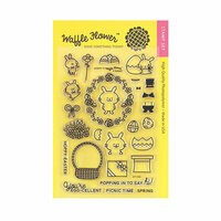 Waffle Flower Crafts - Clear Photopolymer Stamps - Hoppy
