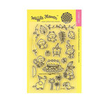 Waffle Flower Crafts - Clear Acrylic Stamps - Jungle Birthday