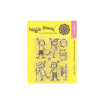 Waffle Flower Crafts - Clear Acrylic Stamps - Hello