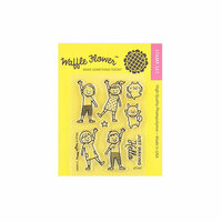 Waffle Flower Crafts - Clear Photopolymer Stamps - Hello