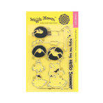 Waffle Flower Crafts - Clear Photopolymer Stamps - Floatie Boys
